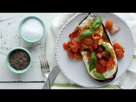 Grilled-Eggplant Parmesan- Everyday Food with Sarah Carey