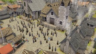 Banished   Ep. 08   Great Construction of the Town Hall   Banished City Building Tycoon Gameplay