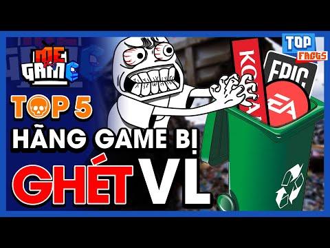 Top 5 Hãng Game Bị Ghét Nhất - Bẩn Tính & Tham Lam?   meGAME