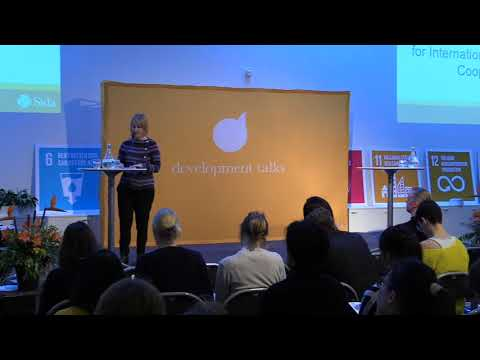 Development talks - Fighting poverty in the most effective way