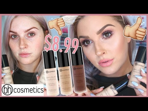 Affordable First Impression Review! ? BHCosmetics BH Liquid Foundation