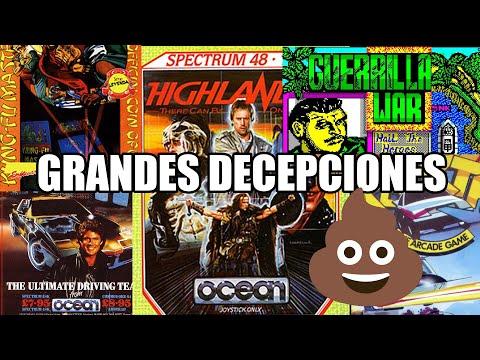 ZX SPECTRUM GRANDES COMPAÑIAS GRANDES DECEPCIONES