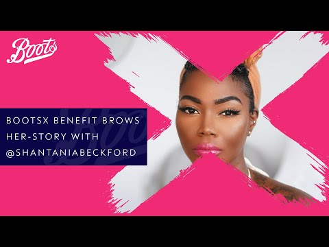 boots.com & Boots Promo Code video: Make-up Tutorial | Brows Her-story with @shantaniabeckford & Benefit Cosmetics | BootsX | Boots UK