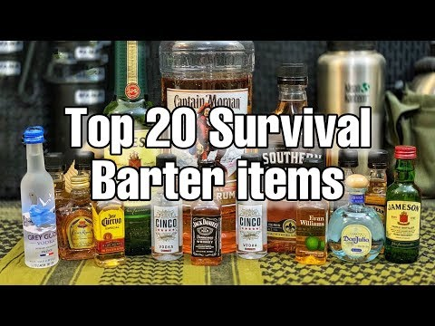 20 Barter Items Every Prepper Should Buy Now!