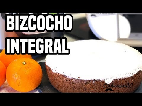 BIZCOCHO INTEGRAL DE NARANJA THERMOMIX Y OLLA GM G DELUXE