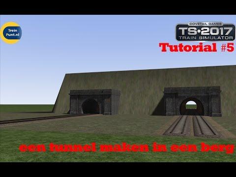 Tutorial #5: een tunnel maken in een berg | Train Simulator 2017