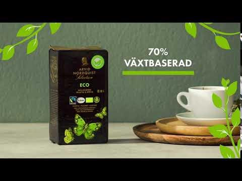 Ny grönare förpackning   Arvid Nordquist Kaffe