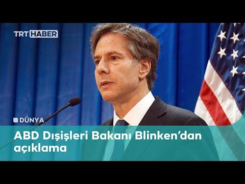 Blinken: Erdoğan ve Biden bir araya gelmeyi dört gözle bekliyor