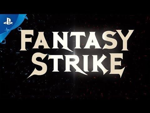 Fantasy Strike - Cinematic Trailer   PS4