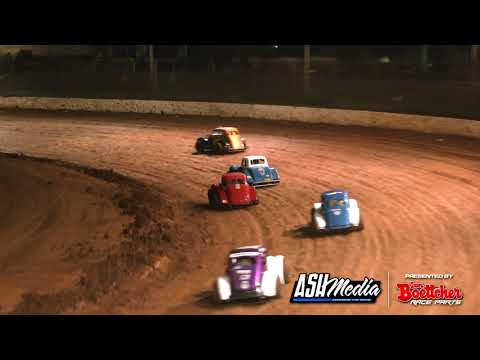 Legend Cars: A-Main - Maryborough Speedway - 24.10.2020 - dirt track racing video image