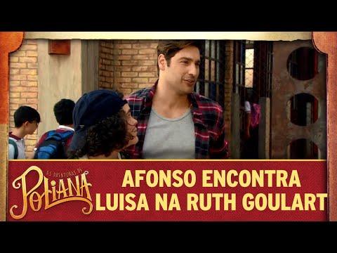 Afonso encontra Luísa na Ruth Goulart | As Aventuras de Poliana