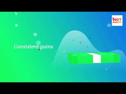 Hot pairs FX app - Screen by screen tutorial