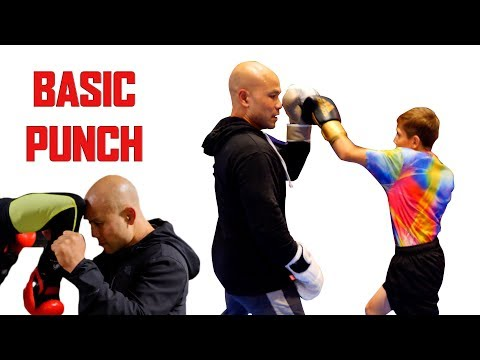 Basic punch in kickboxing | Bullying Needs to STOP!