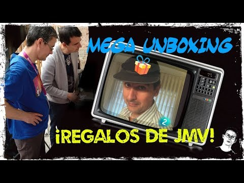 Mega Unboxing: Regalos de JMV ¡GRACIAS!