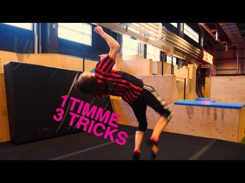 LÄR DIG 3 TRICKING MOVES PÅ 1 TIMME! | BOUNCE Sweden