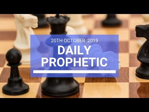 Daily Prophetic 20 October Word 2
