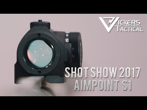 Shot Show 2017 -  Aimpoint S1 Shotgun Sight