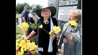 LODZ GHETTO LIQUIDATION: Jewish community  gather to remember Holocaust victims.
