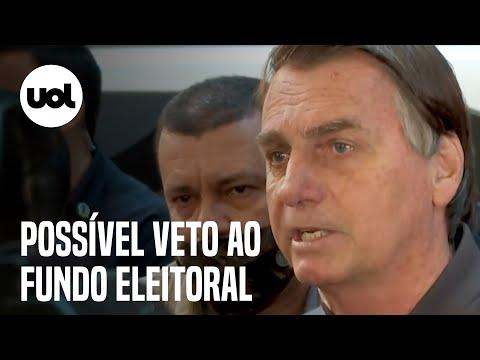 Bolsonaro pode vetar o fundo eleitoral de R$ 6 bilhões