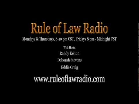Rule of Law Radio Eddie Teaches How To Talk to a Police