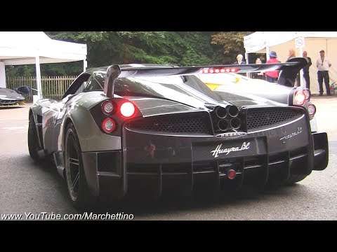 Pagani Huayra BC Exhaust Note - Huge Revs & Accelerations!