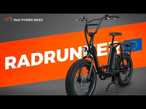European Spec RadRunner Electric Utility Bike | EU Promo
