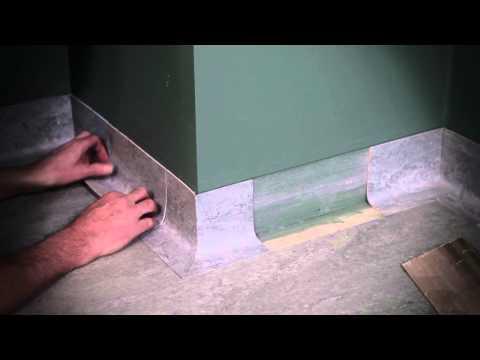 Uppvik av linoleum - Marmoform