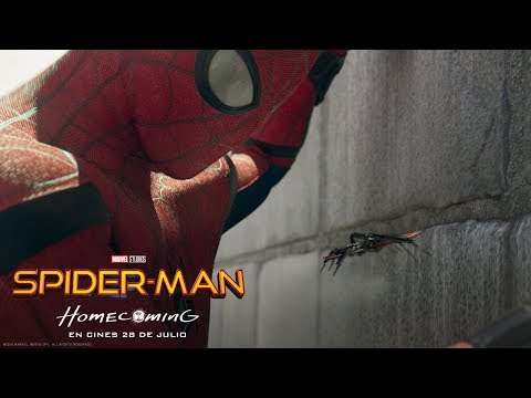SPIDER-MAN:HOMECOMING. Un superhéroe amigo de sus amigos. En cines 28 de julio.