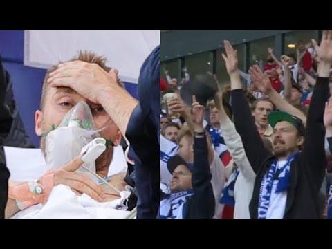 NTV | Tribünlerde 'Eriksen' tezahüratı