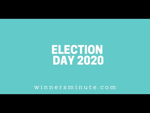 Election Day 2020 // The Winner's Minute With Mac Hammond