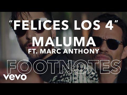 Maluma - Footnotes: Felices los 4 (Salsa Version) [English]