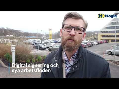 Martin Thulin om elektroniska signeringar