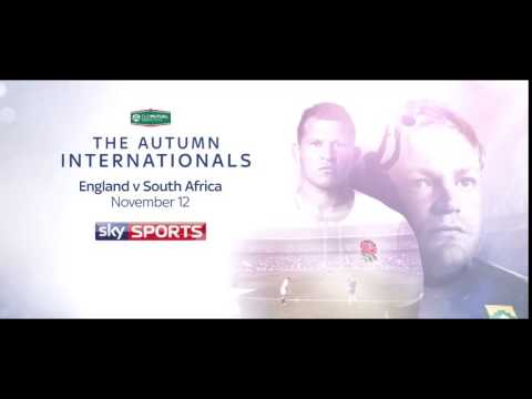 The Autumn Internationals  Live on Sky Sports
