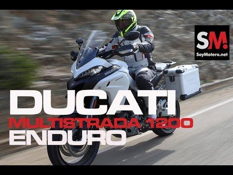 Prueba Maxi Trail: Ducati Multistrada 1200 Enduro 2016