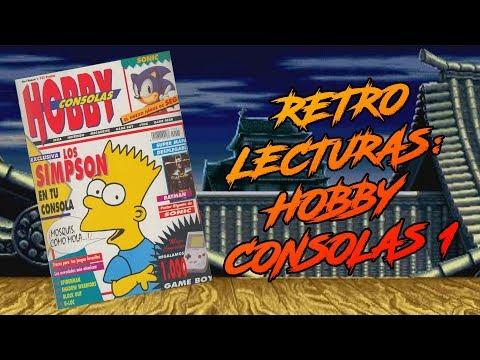 AVOP Retro-Lecturas - [Hobby Consolas Nº1]