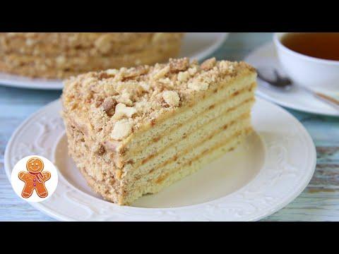 Песочный Торт АНТОШКА ✧ Очень Простой Домашний Торт
