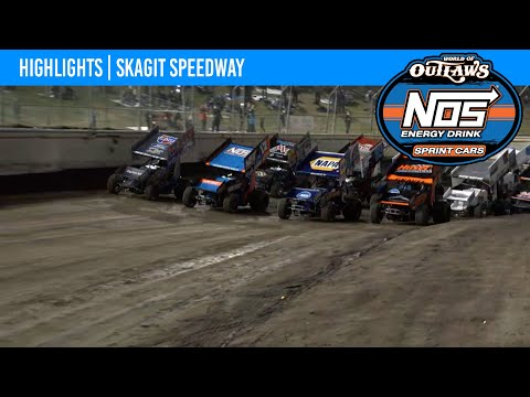 World of Outlaws NOS Energy Drink Sprint Cars Skagit Speedway, September 4, 2021 | HIGHLIGHTS - dirt track racing video image