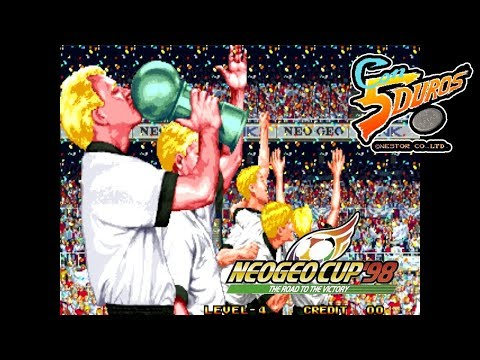 """NEO-GEO CUP '98 -  THE ROAD TO THE VICTORY (S.SIDEKICKS 5) - """"CON 5 DUROS"""" Episodio 772 (1cc) (CTR)"""