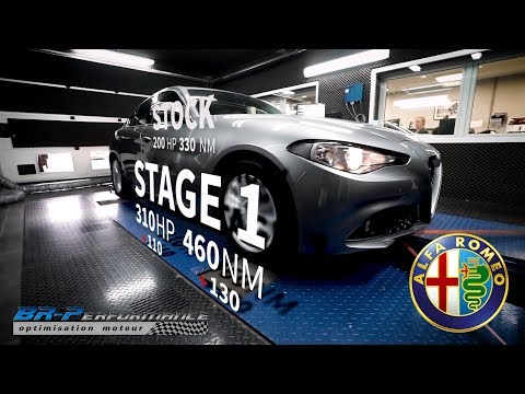 Alfa Romeo Giulia 2.0 TB Stage 1 By BR-Performance