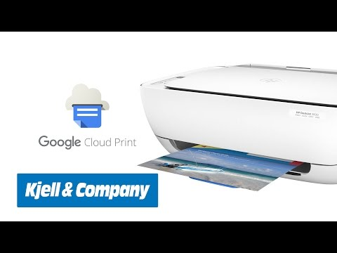 Kjell-TV - Skriv ut med Google Cloud Print (Hur funkar det?)