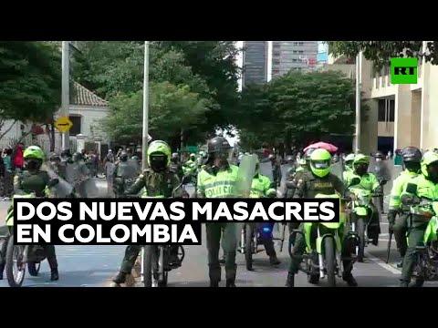 Dos nuevas masacres dejan en 72 horas media docena de muertos y varios heridos en Colombia