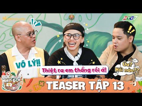 Bữa Ngon Nhớ Đời Tập 13 Teaser: Chị Cano Lê Nhân căng cực vì màn thú nhận sốc tới nóc của Ngọc Phước