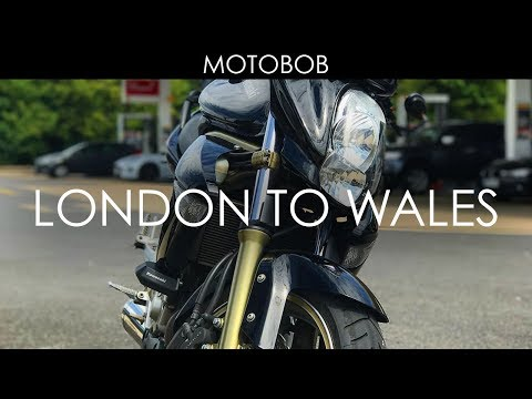 London To Wales By Motorcycle