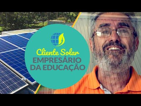Cliente Solar: Empresário da Educação