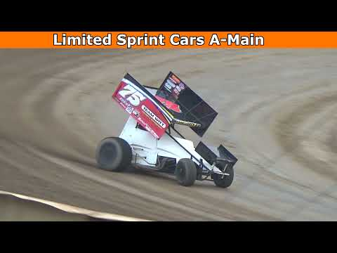 Grays Harbor Raceway, August 14, 2021, Limited Sprint Cars A-Main - dirt track racing video image