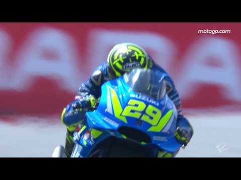 2018 German GP - Suzuki in action