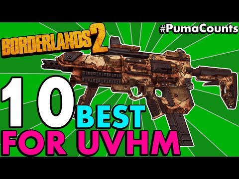 Top 10 Best Guns, Weapons and Gear for Borderlands 2's