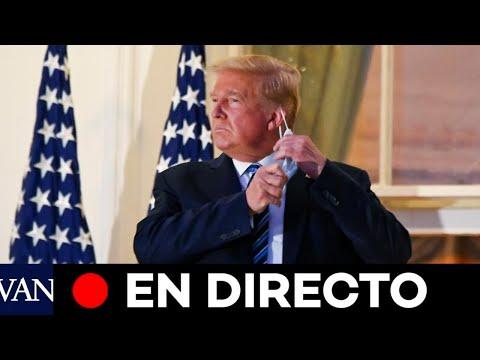 DIRECTO:  Trump continúa su recuperación de la covid-19 en la Casa Blanca