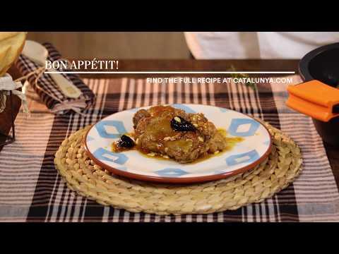 """""""Free-Range Chiken Casserole"""" Recipe by Joan Pallarès. Gastronomic Hotel Can Boix de Peramola"""
