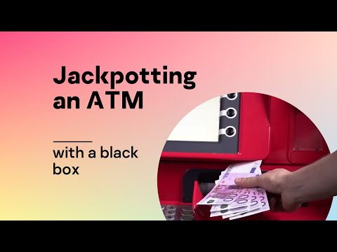 Jackpotting an ATM with a black box